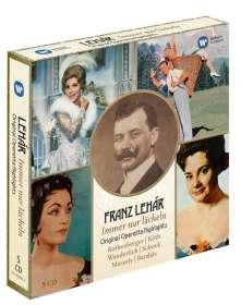 Franz Lehar (1870-1948): Immer nur lächeln - Operettenquerschnitte, CD