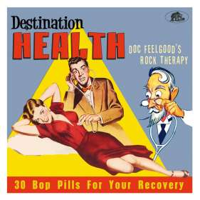 Destination Health: Doc Feelgood's Rock Therapy, CD