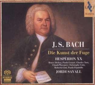Johann Sebastian Bach (1685-1750): Die Kunst der Fuge BWV 1080, SACD