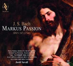 Johann Sebastian Bach (1685-1750): Markus-Passion nach BWV 247, SACD
