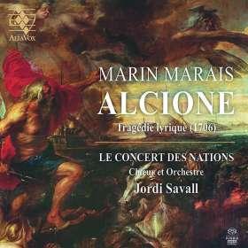 Marin Marais (1656-1728): Alcione (Tragedie lyrique 1706), SACD