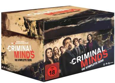 Criminal Minds (Komplette Serie), DVD