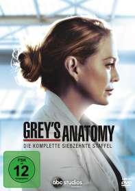 Grey's Anatomy Staffel 17, DVD