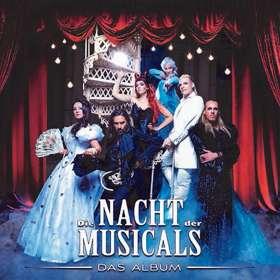 Die Nacht der Musicals, CD