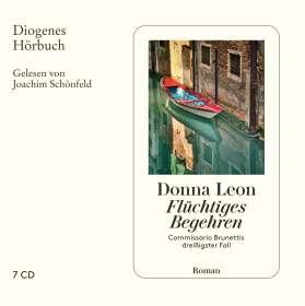 Donna Leon: Flüchtiges Begehren, CD