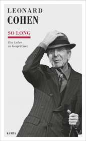 Leonard Cohen: So long, Buch