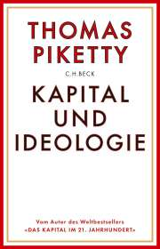 Thomas Piketty: Kapital und Ideologie, Buch