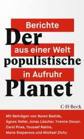 Jonas Lüscher: Der populistische Planet, Buch