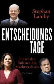 Stephan Lamby: Entscheidungstage, Buch