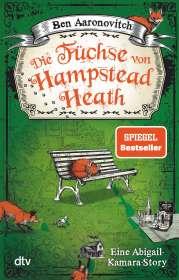 Ben Aaronovitch: Die Füchse von Hampstead Heath, Buch