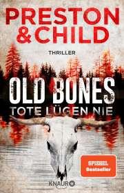 Douglas Preston: Old Bones - Tote lügen nie, Buch