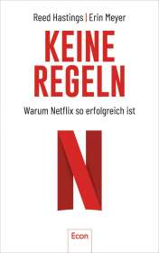 Reed Hastings: Harte Arbeit ist irrelevant, Buch