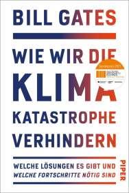 Bill Gates: Wie wir die Klimakatastrophe abwenden, Buch