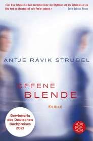 Antje Rávic Strubel: Offene Blende, Buch
