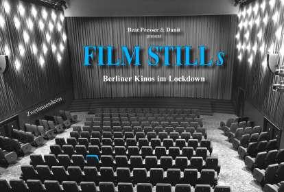 Beat Presser: Film Stills - Berliner Kinos im Lockdown, Buch