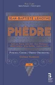 Jean-Baptiste Lemoyne (1751-1796): Phedre (Deluxe-Ausgabe in Buchform), CD