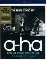 a-ha: Ending On A High Note - The Final Concert 2010, Blu-ray Disc
