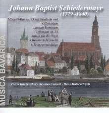 Johann Baptist Schiedermayr (1779-1840): Messe in G op.33, CD