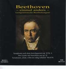 Ludwig van Beethoven (1770-1827): Streichquartett Nr.4 für Orchester, CD