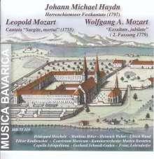 Michael Haydn (1737-1806): Herrenchiemseer Festkantate, CD