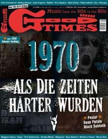 Zeitschriften: GoodTimes - Music from the 60s to the 80s Februar/März 2020, Zeitschrift
