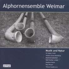 Alphornensemble Weimar - Musik und Natur, CD