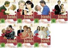 GIRL friends Staffel 1-7 (Komplette Serie), 21 DVDs