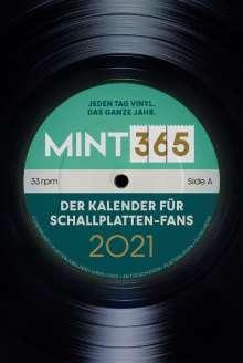 MINT 365: Der Kalender für Schallplatten-Fans 2021, Kalender
