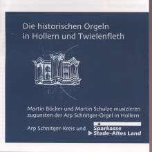 Die historischen Orgeln in Hollern und Twielenfleth, CD