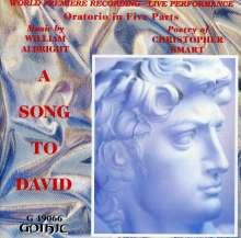 William Albright (1944-1998): A Song To David (Oratorium), CD