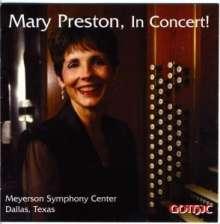 Mary Preston in Concert, CD