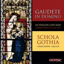 Gudete in Domino - An English Lady Mass, CD