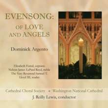 """Dominick Argento (1927-2019): Chorwerke """"Evensong:Of Love and Angels"""", CD"""