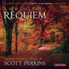 Scott Perkins (geb. 1980): A New England Requiem, CD