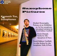 "Musik für Saxophon & Klavier ""Saxophone Pictures"", CD"