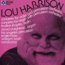 Lou Harrison (1917-2003): Konzert für Orgel & Schlagorchester, CD