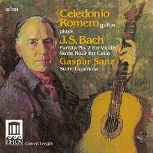 Johann Sebastian Bach (1685-1750): Partita BWV 1004 für Gitarre, CD