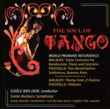 Luis Bacalov (geb. 1933): Konzert für Sopran, Bandoneon & Orchester, CD