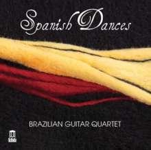 Brazilian Guitar Quartet - Spanish Dances, CD