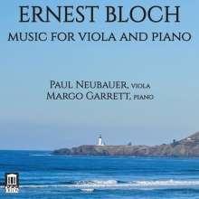 Ernest Bloch (1880-1959): Kammermusik für Viola, CD