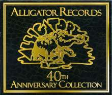 Alligator Records: 40th-Anniversary-Collection, 2 CDs