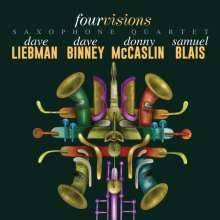 Dave Liebman, Dave Binney, Donny McCaslin & Samuel Blais: Four Visions Saxophone Quartet, CD