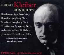 Erich Kleiber dirigiert das NBC SO, 4 CDs