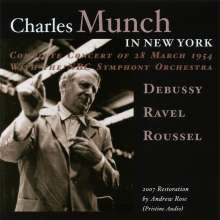 Charles Munch in New York, CD