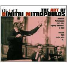 Dimitri Mitropoulos - The Art of Vol.1, 4 CDs