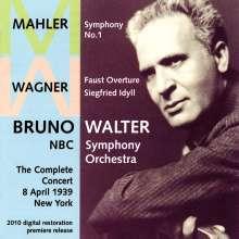 Bruno Walter & das NBC SO - New York Concert 8.4.1939, CD