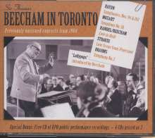 Beecham in Toronto, 4 CDs