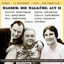 Richard Wagner (1813-1883): Die Walküre (2.Aufzug), CD