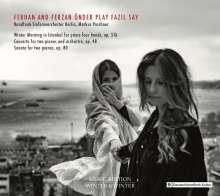 Fazil Say (geb. 1970): Konzert für 2 Klaviere & Orchester op.48, CD