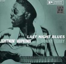 Sam Lightnin' Hopkins: Last Night Blues, CD